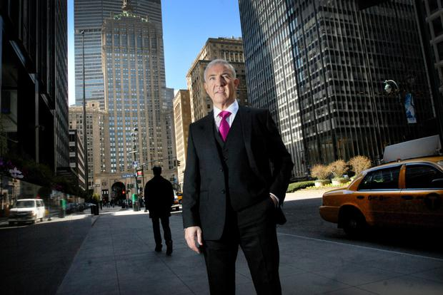 Developer Sean Dunne is pictured on New York's Park Avenue in 2013