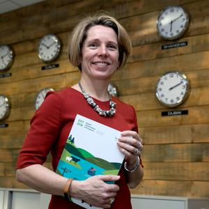 Troubling times: Bord Bia boss Tara McCarthy says a no deal Brexit will be 'a disaster for the country and a huge problem for the food industry in Ireland'. Photo: Iain White Photography