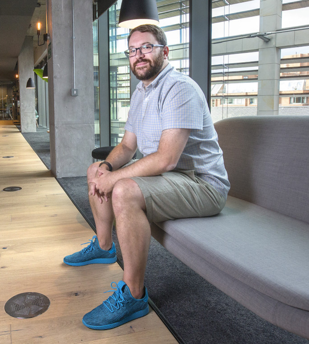Home comforts: Slack co-founder and CTO Cal Henderson says Ireland has been a 'good choice' for its European base Photo: Tony Gavin