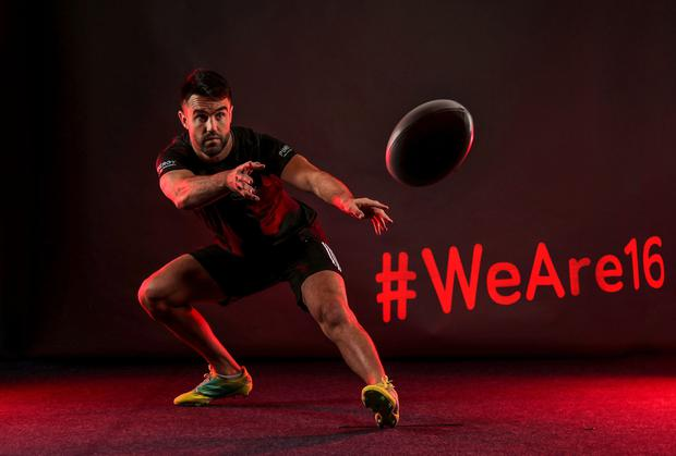On the ball: Energy partner Pinergy teamed up with Munster player Conor Murray