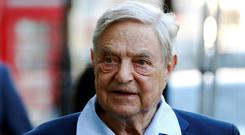 Heavy hitters: The company's backers include George Soros, pictured, and Michael Dell