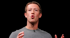 No show: Facebook CEO Mark Zuckerberg failed to appear at a special hearing in the British parliament