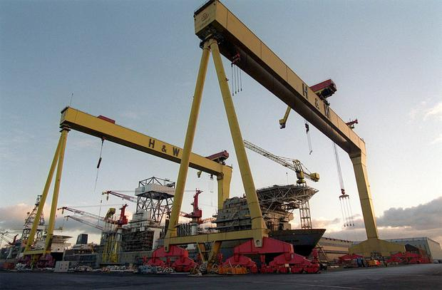 Harland and Wolff is up for sale