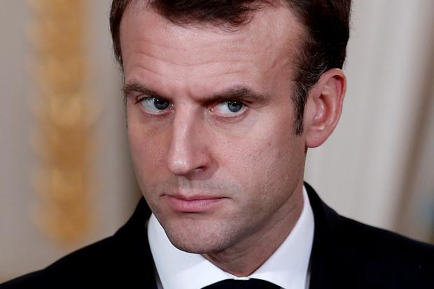 Target: France's Macron has his eye on multinationals' low tax profits. Photo: REUTERS