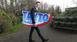 Jeff Swan, MD of the newly named Tayto Snacks