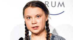 Swedish climate activist Greta Thunberg. Photo: Getty