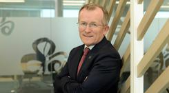 Challenge: Niall Gibbons says it will be tough task to hit a target of increasing revenue by 6pc. Picture: Caroline Quinn