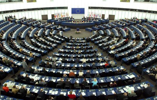 General view of the European Parliament in Strasbourg. Photo: REUTERS