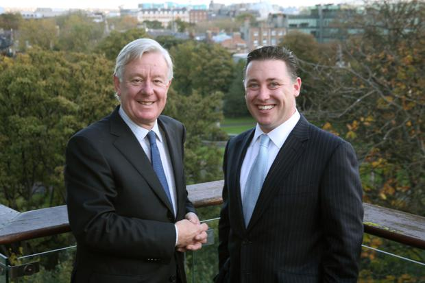 Race: Stephen Vernon and Pat Gunne created Ireland's first real estate investment trust in 2013
