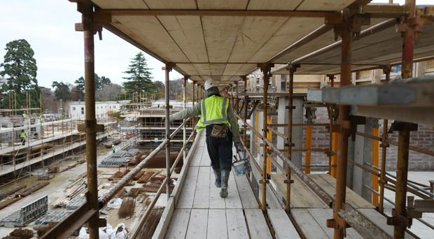Construction workers are expected to receive a pay rise of more than 9pc that could push up the price of housing and hamper the Government's huge infrastructure plan.