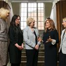 Pictured at the annoucement are Sheelagh Daly; Suzanne Moloney, from Hidramed Solutions; Heather Humphreys; Leonora O'Brien, CEO, Pharmapod; and Sonia Neary, Wellola. Photo: Shane O'Neill, SON Photographic