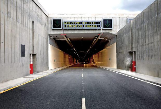 The Limerick Tunnel opened in 2010 and the concession runs until 2041.
