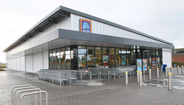 Growth: Sales have climbed by 12.8pc at Aldi