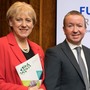 Action: Business Minister Heather Humphreys with Gary O'Meara, Meath Enterprise CEO