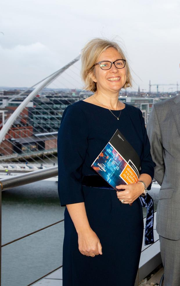 Insights: Insurance Ireland president Ann Kelleher at the launch of the report, which gauges CEO perspectives