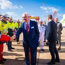 Handover: Stena Line owner Dan Olsson at the Weihai shipyard