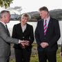 Milestone: Announcing the €100m investment were (L-R): John Phelan, HBAN; Margaret Hearty, InterTradeIreland; William McCulla, Invest NI; and Kevin Sherry of Enterprise Ireland