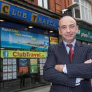 Significant: Club Travel director Colman Burke said the move represents its biggest acquisition
