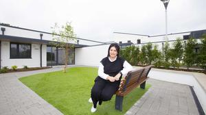 Martina Jennings, CEO of Mayo Roscommon Hospice Foundation, pictured at the newly built hospice in Roscommon. Photo: Brian Farrell