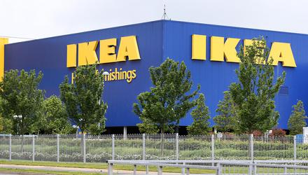 Irish customers snapped up storage units, furniture and frying pans. Photograph: Steve Humphreys