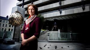 Boost: Sharon Donnery, deputy governor of the Central Bank. Photo: David Conachy