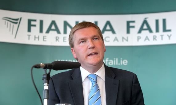 Fianna Fail Finance spokesman Michael McGrath