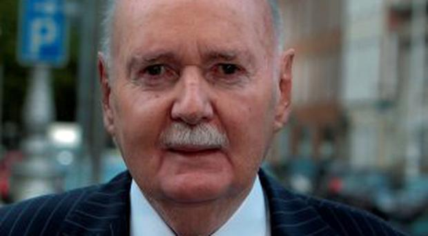 EXPRESSION OF REGRET: Michael Fingleton said as far as he is concerned, he apologised to the Banking Inquiry