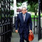 Ajai Chopra, former deputy director of the IMF leaving the banking inquiry