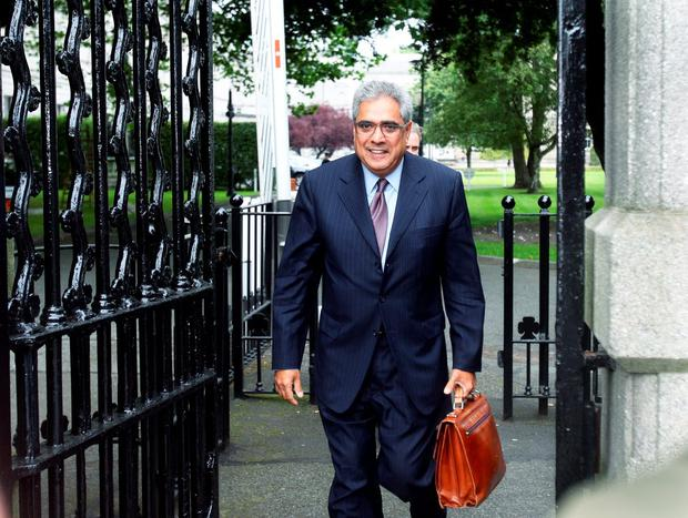 Ajai Chopra, former deputy director of the IMF leaves the inquiry