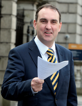 Fianna Fail TD Marc MacSharry Photo: Tom Burke
