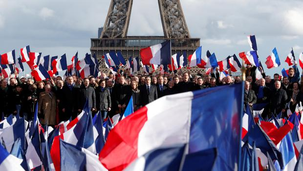 There will be a presidential election in France next month
