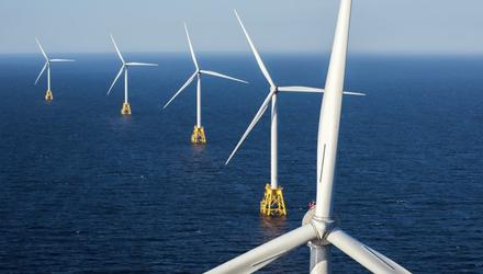 The Cailleach wind farm is proposed for a site 13km off the Dublin/Wicklow coast