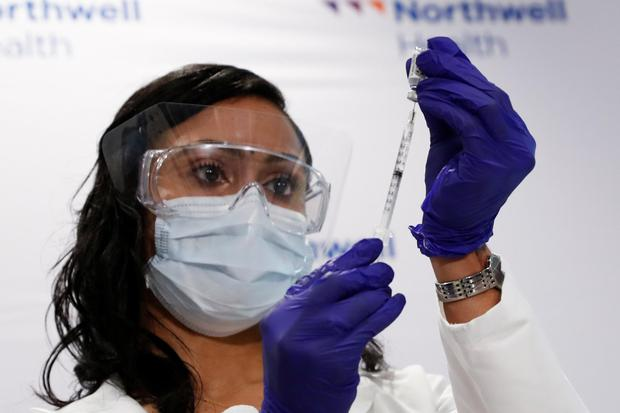 Johnson & Johnson, which has developed a vaccine for Covid-19, is one of several US pharma companies with an Irish base. Photo: Reuters/Shannon Stapleton