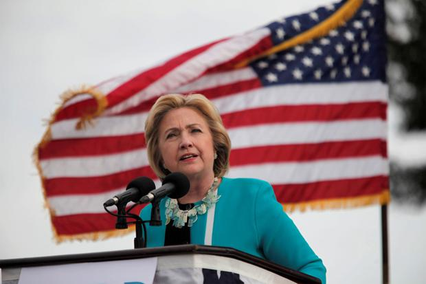 US Democratic presidential candidate Hillary Clinton. Photo: Reuters