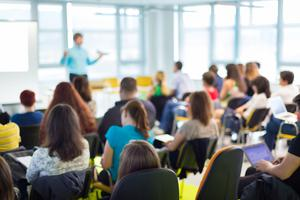 'Accommodating vital new protection protocols in a classroom, and enforcing urgent safety strictures that seem to go against every instinct of bringing people together, must from now on be hard-wired into the system'. (stock photo)