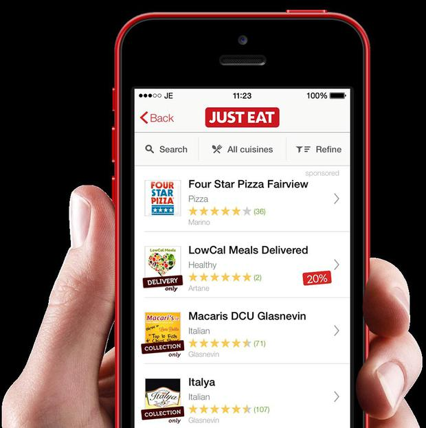 Service provide Just Eat says it will invest the extra revenue