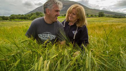 Paul and Jude Davis, two co-founders of Nephin Whiskey