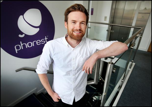 Ronan Perceval who is CEO of Phorest