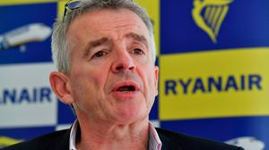 Ryanair CEO Michael O'Leary. Photo: AFP/Ben Stansall/Getty Images