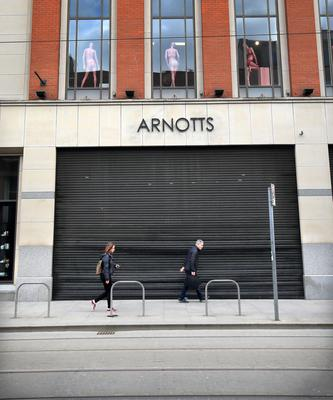Arnotts continues to pay staff in full despite the closure of their store after the outbreak of Covid-19