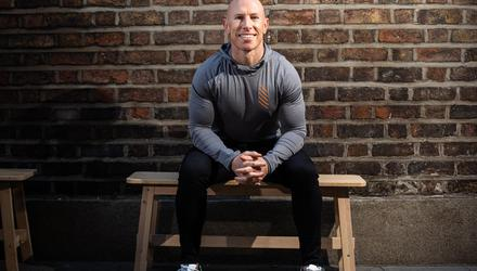 Former Irish and Munster rugby player, Peter Stringer.