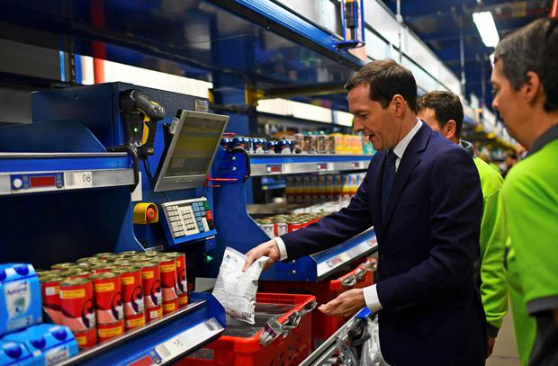 Chancellor George Osborne warns of a 'cocktail of risks'. Photo: Reuters