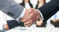 Ireland is expected to see over 100 M&A agreements in 2018 (stock picture)