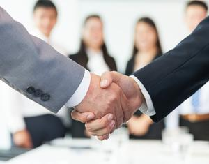 'You want to get as many people on board before you make the official announcement.'   (stock photo)