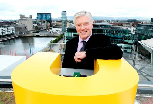 Pat Kenny at UTV Ireland