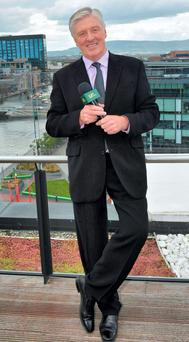 Pat Kenny, soon to be of UTV