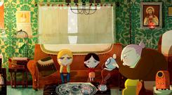 IRELAND'S CREATIVE HUB: Above, a scene from the sumptous Song of the Sea, made by Cartoon Saloon and featuring the voices of Brendan Gleeson and Fionnula Flanagan.