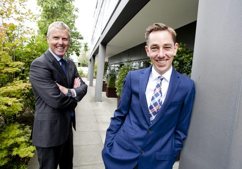 Sky Ireland md JD buckley and ryan tubridy