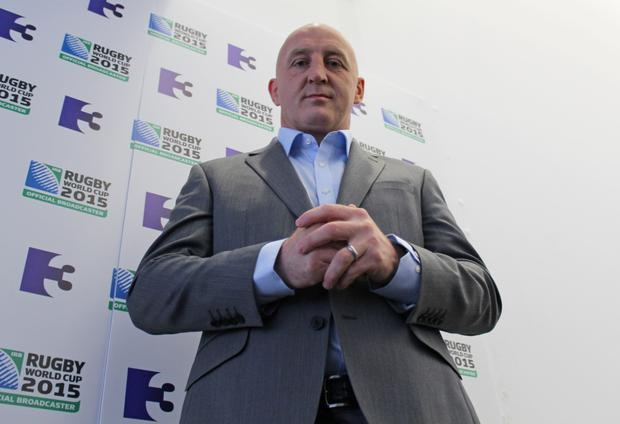 Looking the part: TV3 rugby analyst Keith Woods