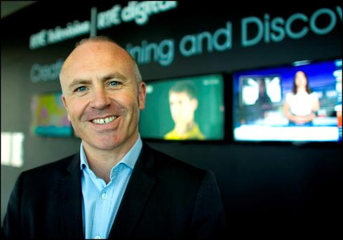 RTE's Managing Director of TV, Glen Killane